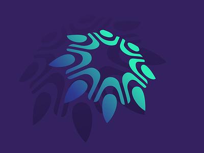 EDW Consulting icon logo design