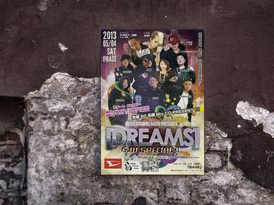 Holiday event flyer for HIPHOP concert branding poster design poster graphic design flyer artwork flyer design