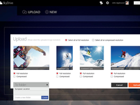 Proposed SkyDrive redesign