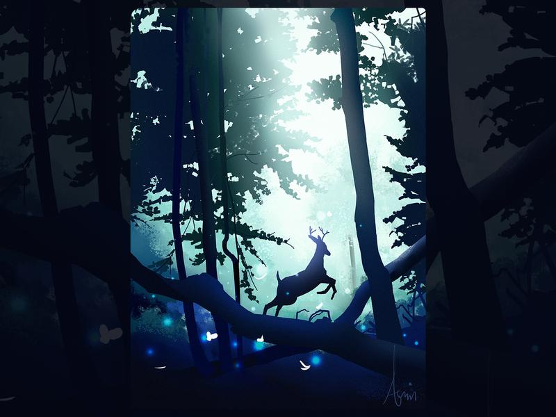 鹿 iillustration