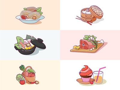 Food illustration Icon