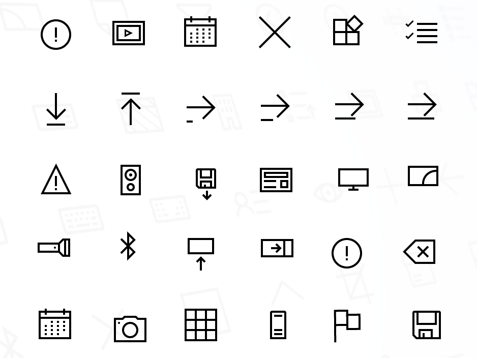 Windows 10 Icon Set II by Parul Gupta on Dribbble