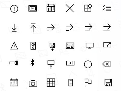 Windows 10 Icon Set II