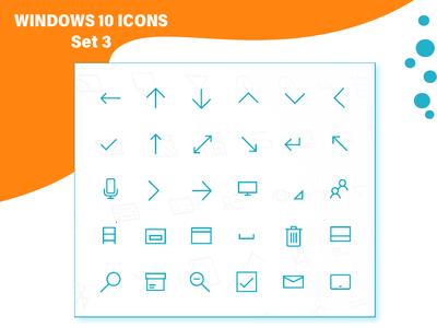 Windows 10 Iconset III