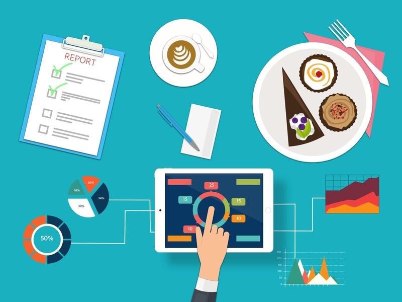 Gastro Report file vector design vector graphics