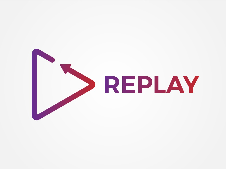 5557ab82a5f2c2 Replay Logo by AGS Designing | Dribbble | Dribbble