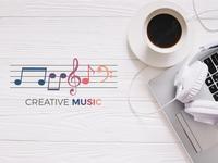 Creative Music Logo