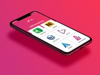 AGS Designing App UI