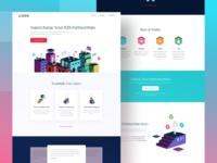 Crossbeam Homepage Design