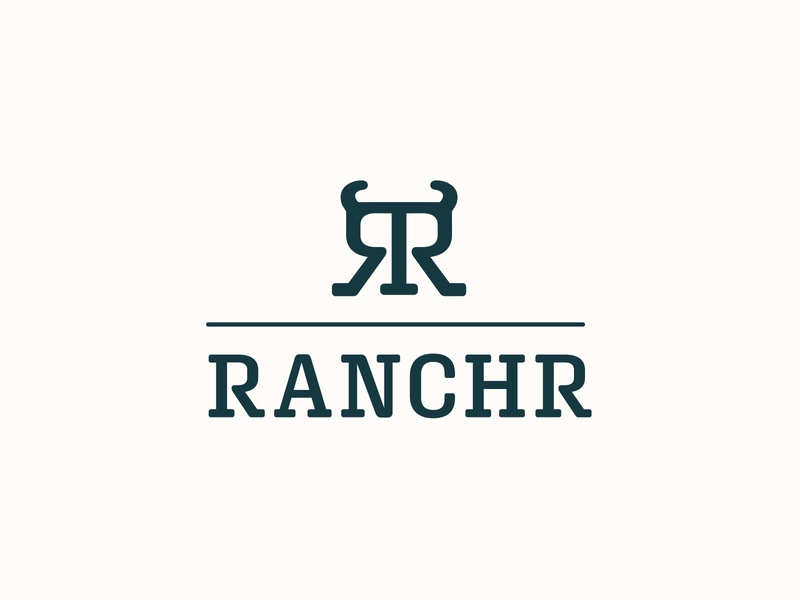 Ranchr - Brand Identity & Web Design (1/2) direct to consumer startup combination mark logotype logomark t-shirt brand identity brand design webdesign website branding brand bull cow meat cattle