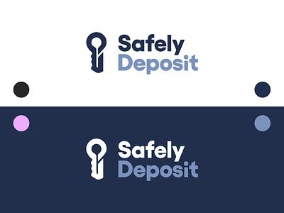 Safely Deposit Brand Identity & Website (2/2) brand identity logo flat packaging design logodesign combination mark logotype logomark typography brand design vector startup design illustration branding