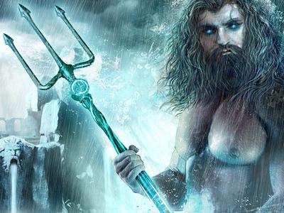 The Atlantis Saga, album artwork WIP album artwork illustration cd artwork cover artwork fantasy atlantis poseidon