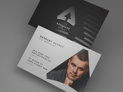 AppGrade Studio business card