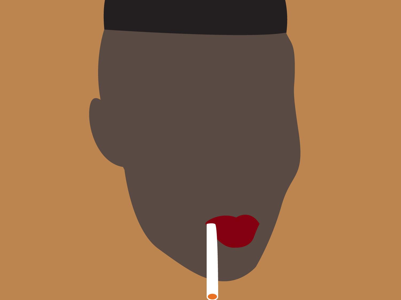 Grace Jones illustration illustration art vector art minimalism
