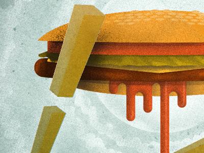 Bespinburger burger killustrators illustration star wars
