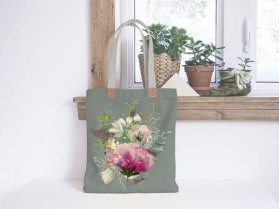 Bag Design branding illustration