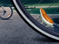 SPEEDY \ Glittery Bike Accessory