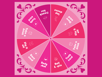 Spin-it-to-win-it / Adult Novelty Board Game Design
