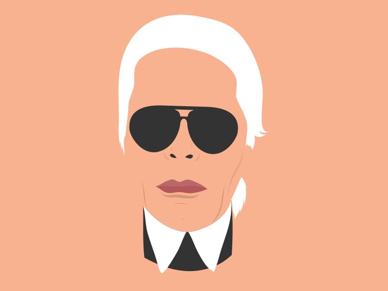 Karl Lagerfeld By Teo Yu Siang Dribbble Dribbble