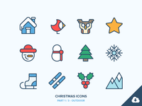 Christmas Icons Freebie 1/3 - Outdoor