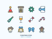 Christmas Icons Freebie 3/3 - Holidays