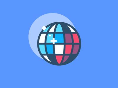 Nightclub club discoball nightclub baroudeur bar app night mobile icon outline