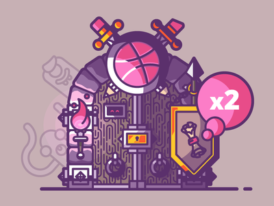 Invites to Dribbble dungeon