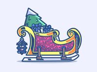 Santa's sled 18/24
