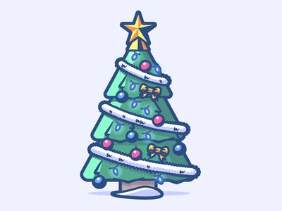 Christmas tree 22/24 holidays winter christmas lights star xmas balls garland fir christmas tree
