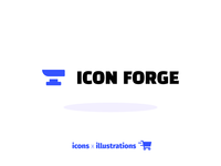 IconForge - Icons and illustration shop