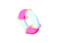 Buoy - Summer beach icon set