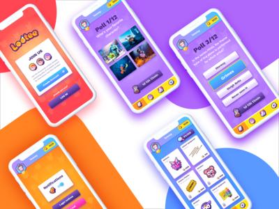 Kids app UI