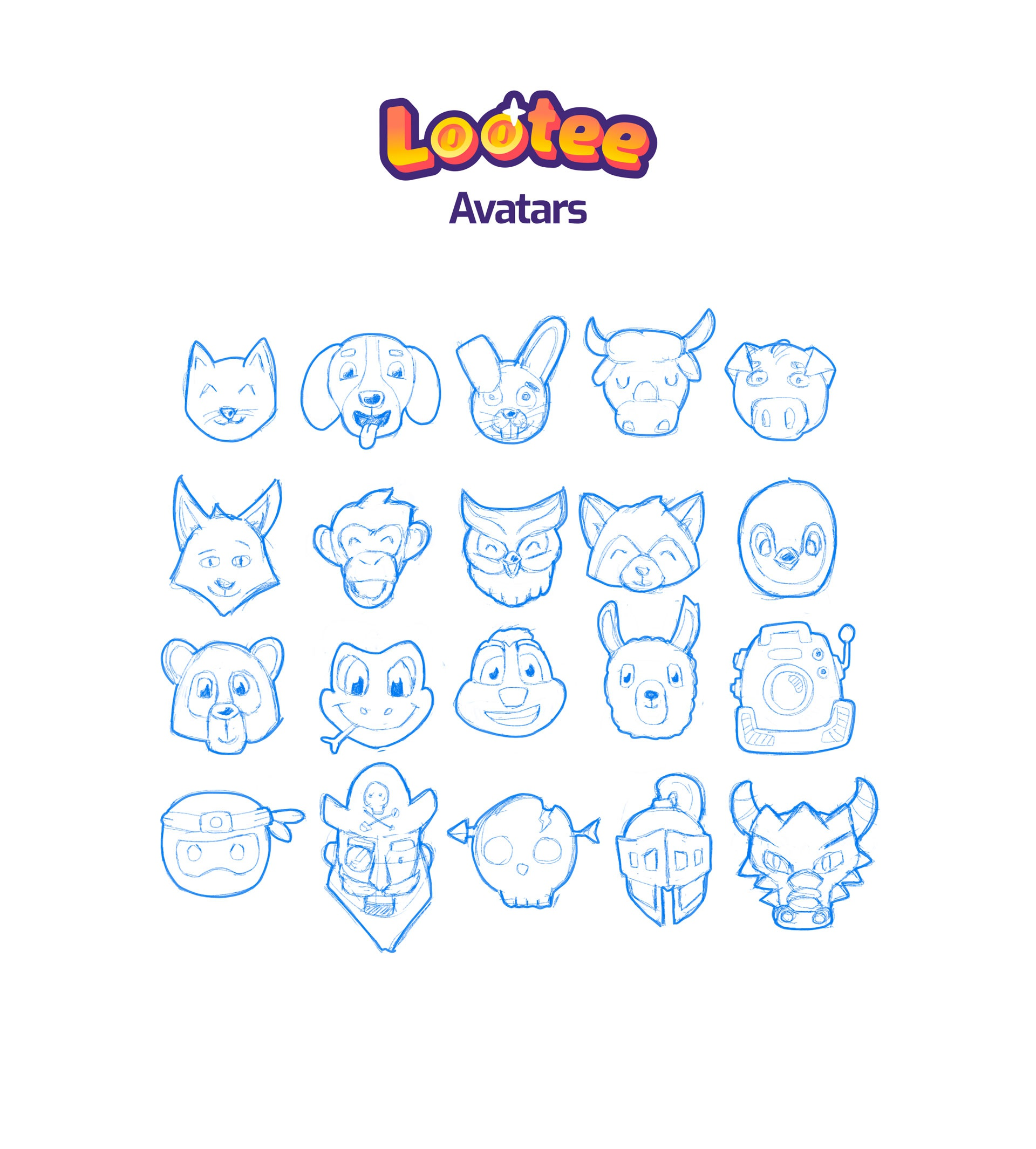 Lootee avatars 3