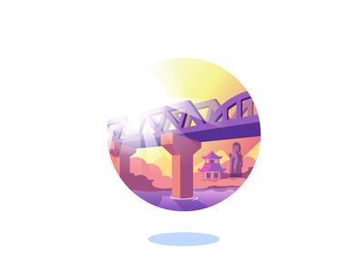 Bridge over River Kwaï, quest badge