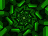 Green Tunnel DMT 3D Concept