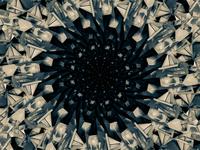 3D Entity Tunnel Concept Trippy Art