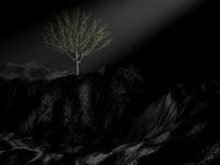 'Life' 3D modeled tree