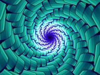 Trippy Vortex Background