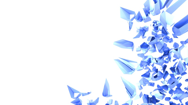 Blue Crystals. contrast assets gaming 3dartist reflection shiny graphic wallpaper background isolated concept render design amazing 3d artist 3dmodeling 3d art 3d crystals blue