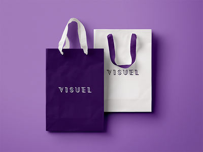 Visuel up make identity branding elegant clean typo lettering logo fashion beauty