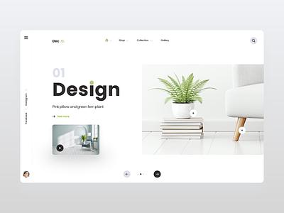 Minimalist Web Design interaction branding website minimal web clean talavadze design ux ui