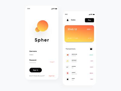 Financlial UX/UI payments app payments bank app trending minimal mobile app financial banking transaction cards payment app clean talavadze design ux ui