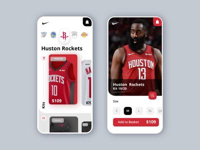 NBA - Nike - Shop App