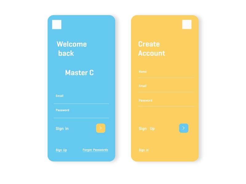 Account Master mobile app design mobile design mobile mobile app mobile ui app talavadze illustration design ux ui