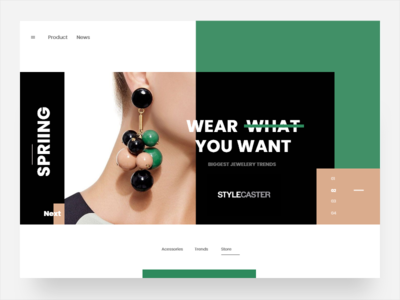Accessories - Landing Page