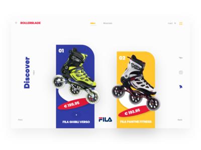 Rollerblade - Shop Concept