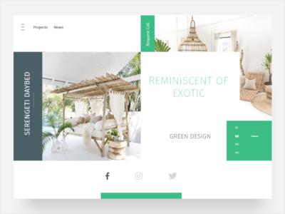 Green House Ui ux