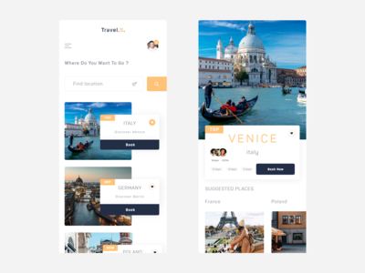 Travel.S. - mobile booking