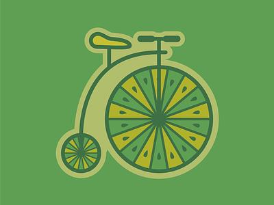 Penny Farthing citrus bike