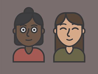 Character Design - Girls character design
